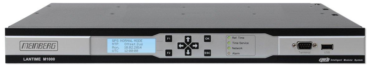 曼博格M1000系列PTP 1588时钟服务器M1000_N2101