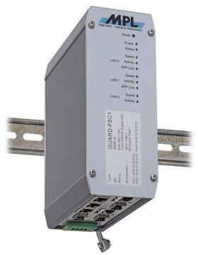 MPL 千兆级工业交换机/防火墙/路由器 GUARD-FS