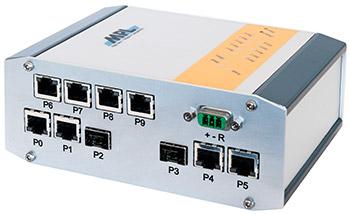 MPL 工业级坚固性10端口千兆交换机 带有2个SFP + 10Gbit端口(MAXBES)
